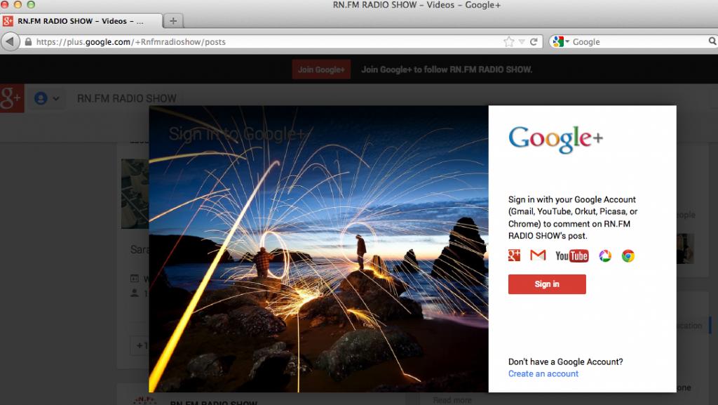 RNFMRADIO Google+