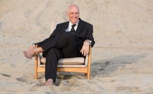 David Couper on beach