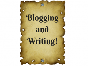Blogging and Writing!